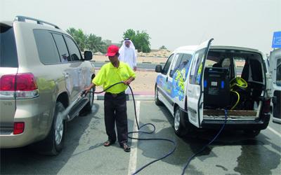 خدمة غسيل السيارات بالمنزل بالرياض كار كلين 01285320545