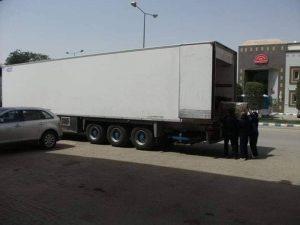 شحن من جدة الى عمان