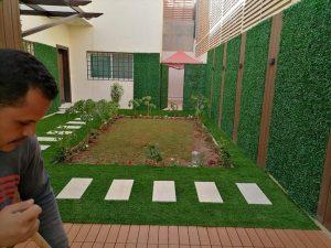 تنسيق حدائق فلل بالرياض